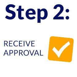receive approval